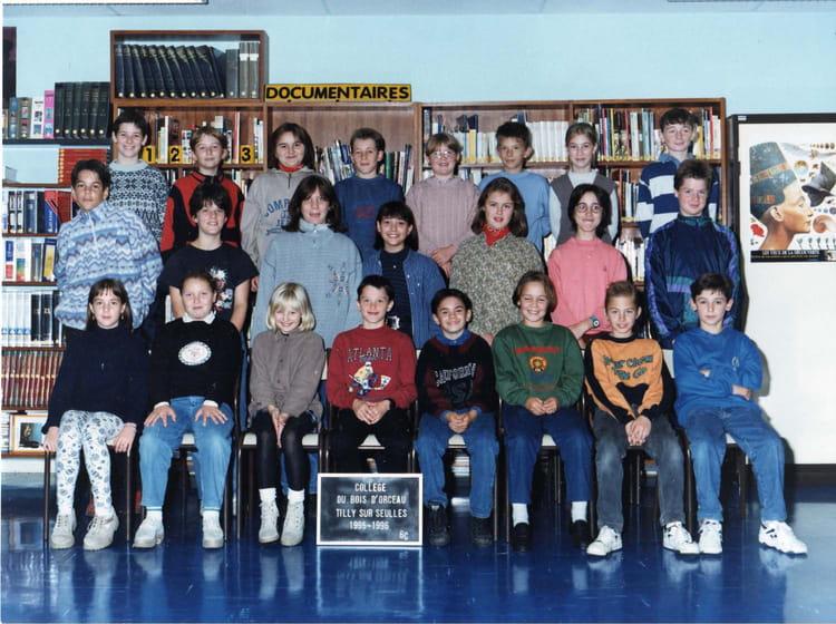 classe 6 ème C de 1995, Collège Du Bois Dorceau  Copains davant ~ College Bois D Orceau