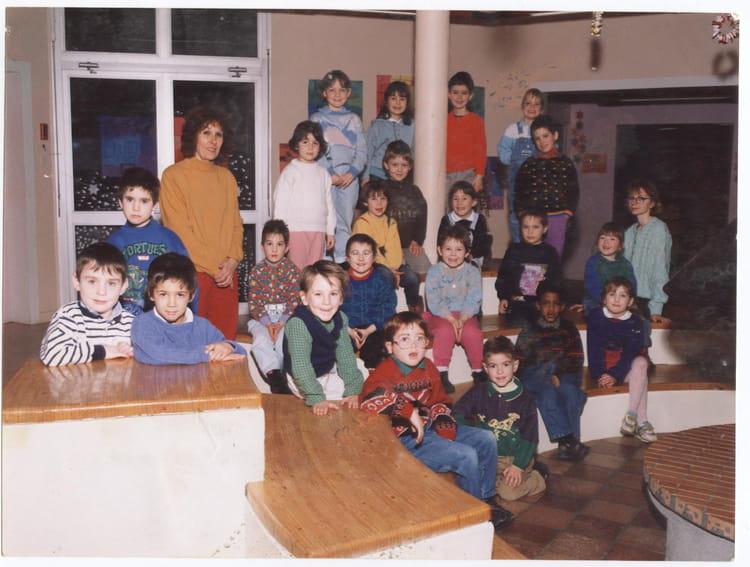 photo de classe grande section de 1991 ecole jean moulin le may sur evre copains d 39 avant. Black Bedroom Furniture Sets. Home Design Ideas