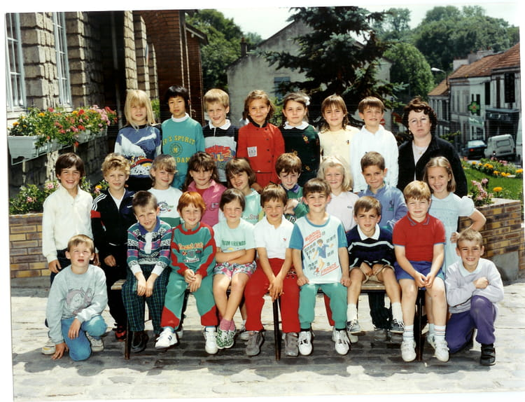 photo de classe cp nicolas la queue en brie de 1989 ecole jean jaures copains d 39 avant. Black Bedroom Furniture Sets. Home Design Ideas