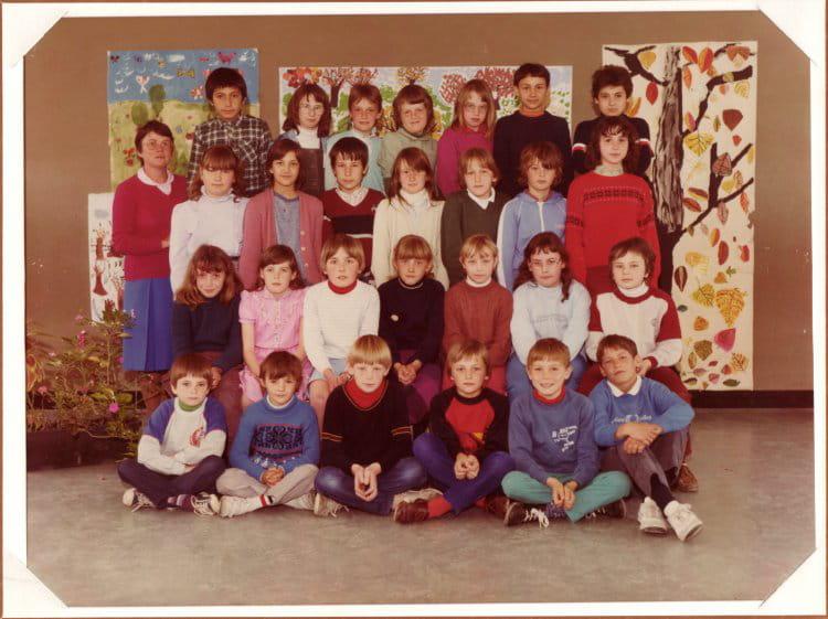 Photo de classe cm1 de 1984 ecole george sand - Art cuisine longuenesse ...