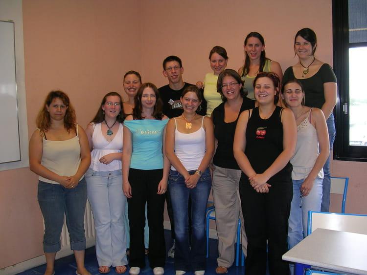 Photo de classe ges102 de 2006 cifam de la chambre des m tiers de loire atlantique copains d - Chambre des metiers loire atlantique ...
