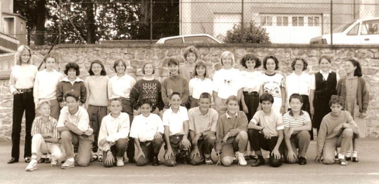 Photo de classe 5 me de 1989 coll ge du jardin des plantes copains d 39 avant - College du jardin des plantes ...