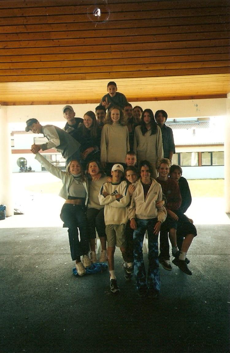 2001 - 4ieme 2 - collège du pays de gavot
