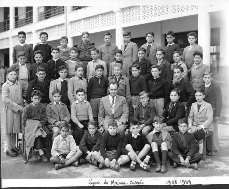 Photo de classe coll ge maison carr e 6 1948 49 de 1948 college m - Maison carree moderne ...