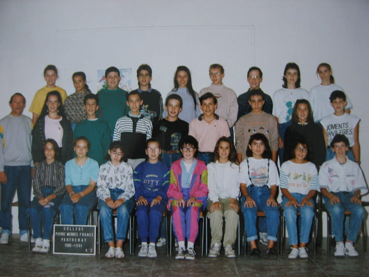 photo de classe 6 me 4 de 1994 coll ge pierre mend s france copains d 39 avant. Black Bedroom Furniture Sets. Home Design Ideas