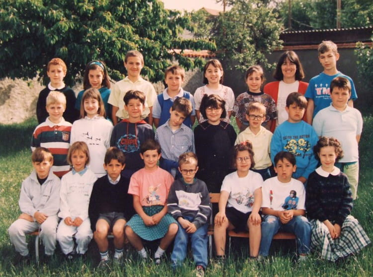 photo de classe cm1 de 1993 ecole jayol saint just sur loire saint just saint rambert. Black Bedroom Furniture Sets. Home Design Ideas