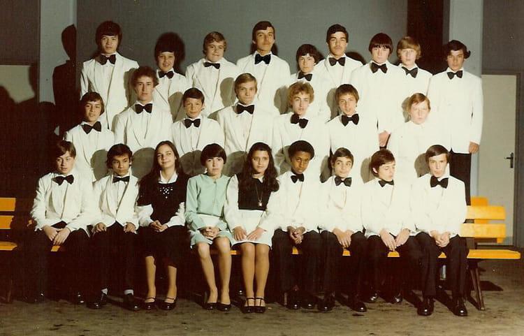 Cote De Villebon photo de classe la marche de l'empereur de 1976, les côte de