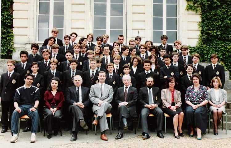Premier cycle de 1989, INSTITUTION LE BOIS ROBERT  Copains davant ~ Institut Bois Robert