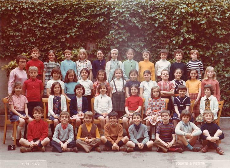 Photo de classe 8 me 1971 1972 de 1971 ecole normale catholique annexe st - Ecole olivier de serres ...