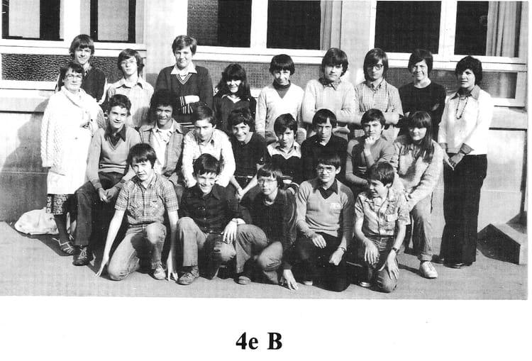 photo de classe 4 232 me b de 1979 coll 232 ge jean baptiste de la salle copains d avant
