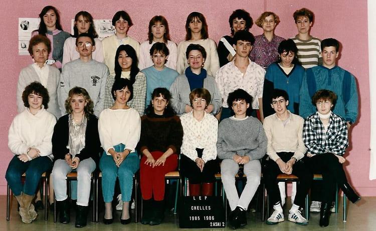 photo de classe bep 2asai2 de 1985 lyc 233 e professionnel louis lumi 232 re copains d avant