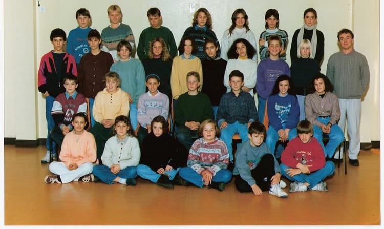 photo de classe 5 me2 de 1992 coll ge l 39 oiseau blanc copains d 39 avant. Black Bedroom Furniture Sets. Home Design Ideas