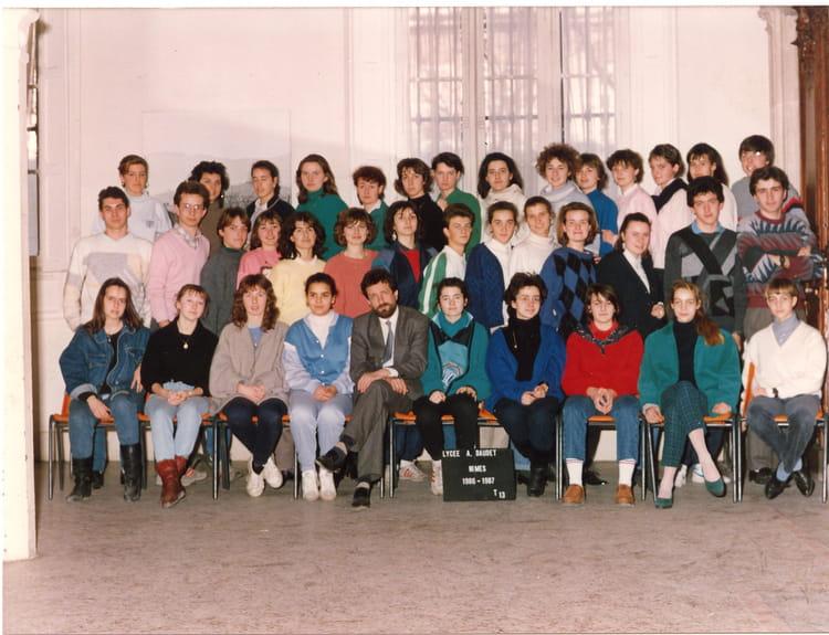 Photo de classe t 13 de 1996 lyc e alphonse daudet for Lycee alphonse daudet