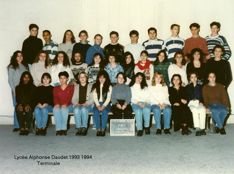 Photo de classe terminale de 1993 lyc e alphonse daudet for Lycee alphonse daudet