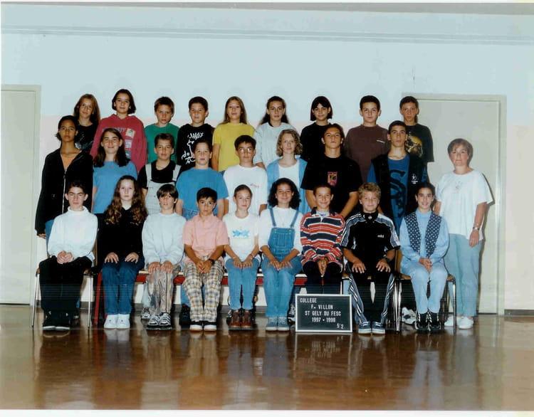 Photo de classe coll ge st gely du fesc de 1997 coll ge - Salon de la chasse saint gely du fesc ...