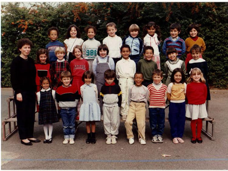 photo de classe cp de 1985 ecole jacques prevert villefranche sur saone copains d 39 avant. Black Bedroom Furniture Sets. Home Design Ideas