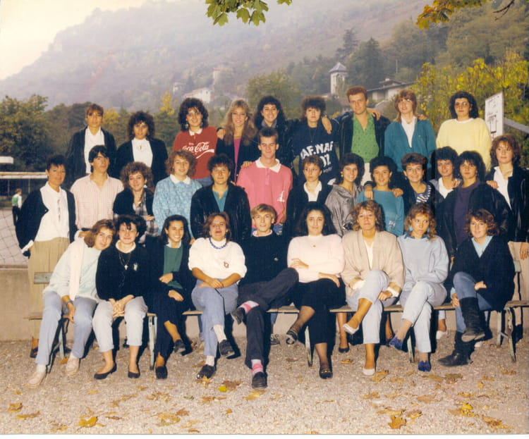 Photo de classe Terminale G1 A de 1987, Itecboisfleury  ~ Itec Bois Fleury