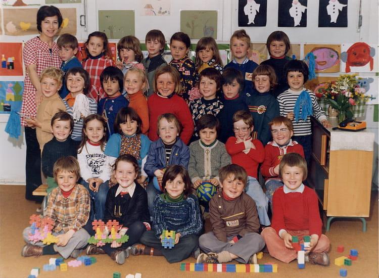photo de classe maternelle de carpiquet de 1977 ecole publique copains d 39 avant. Black Bedroom Furniture Sets. Home Design Ideas