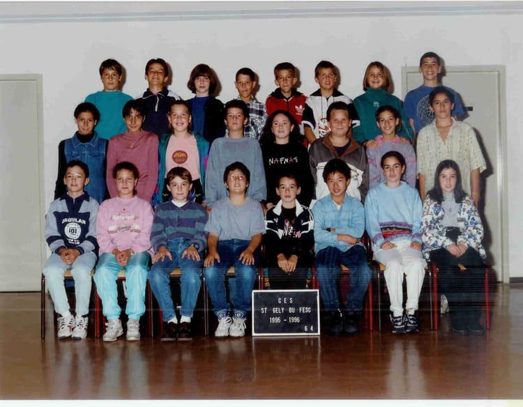 Photo de classe coll ge st gely du fesc de 1995 coll ge - Salon de la chasse saint gely du fesc ...