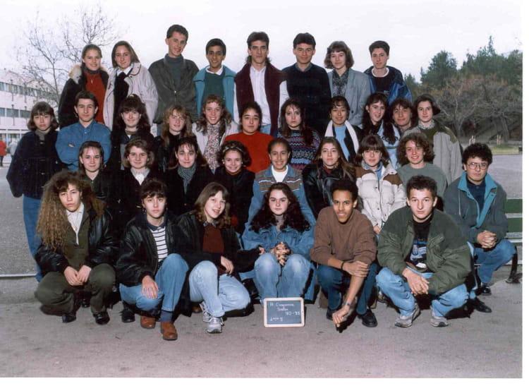 Photo de classe 2 me5 de 1990 adam de craponne copains - Lycee craponne salon ...