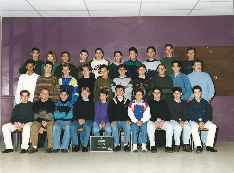 photo de classe 2 232 me3 4 cap bep electrotechnique de 1993 lyc 233 e professionnel jacquard copains