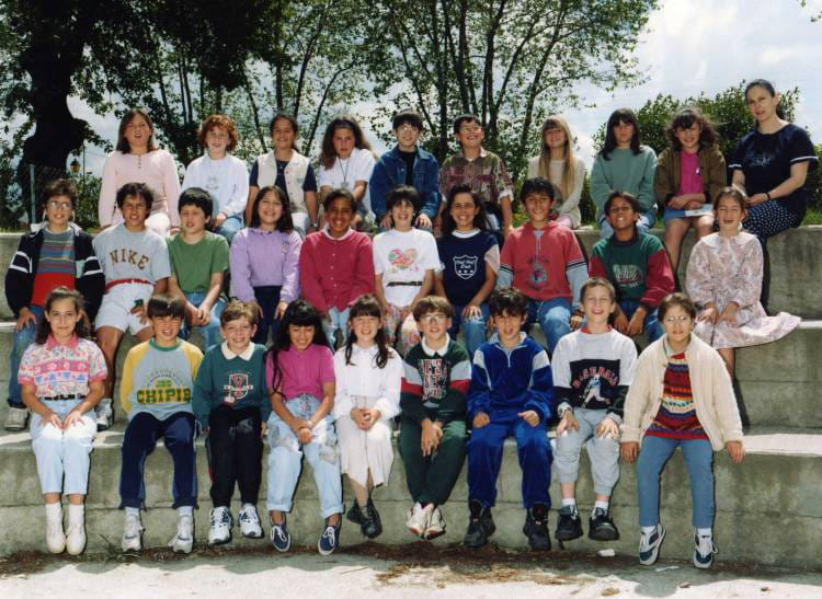 photo de classe classe de cm2 de 1994 ecole primaire labarthe sur leze copains d 39 avant. Black Bedroom Furniture Sets. Home Design Ideas