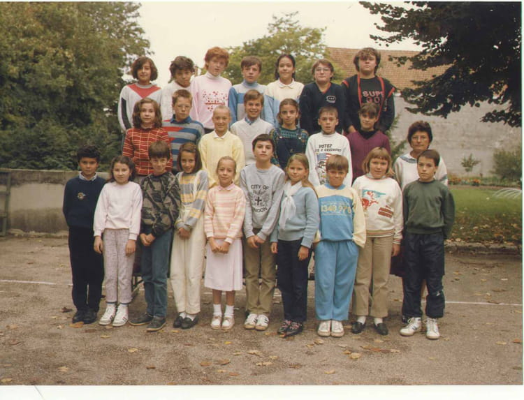 photo de classe cm2 de 1986 ecole du general de gaulle. Black Bedroom Furniture Sets. Home Design Ideas