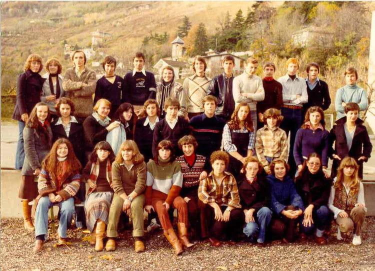 Photo de classe 2AB2bis de 1978, Itecboisfleury  Copains  ~ Itec Bois Fleury