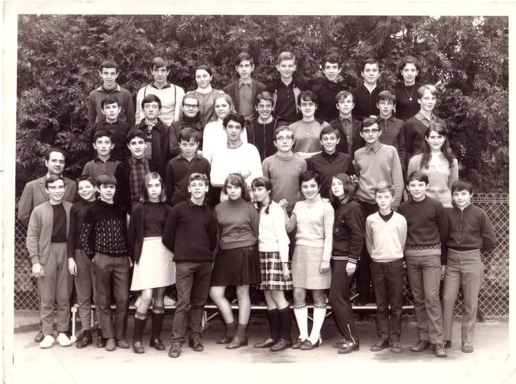 Photo de classe 4 me moderne de 1969 coll ge du jardin des plantes copains d 39 avant - College du jardin des plantes ...