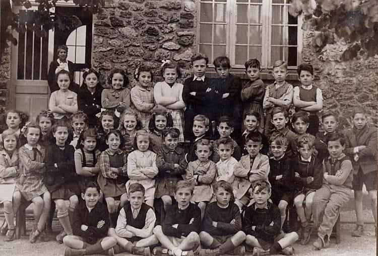 Photo de classe Classe de Mme BENNE 1947  1948 de 1947