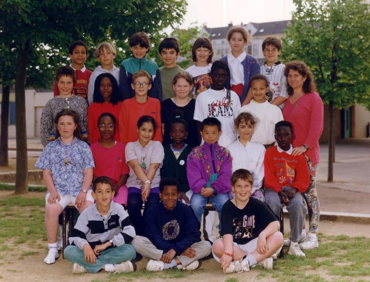 Photo de classe cm1 1993 1994 de 1993 ecole jean racine for Horaire piscine le mee sur seine