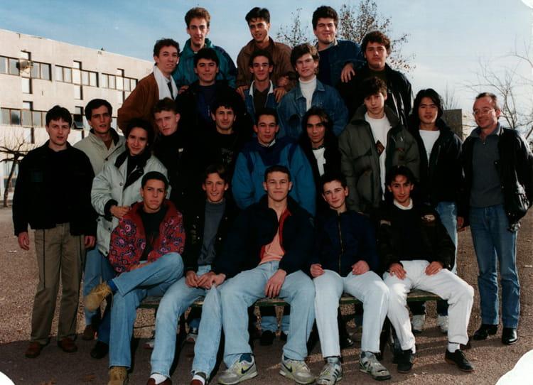 Photo de classe terminal f2 1991 1992 de 1991 lyc e - Lycee craponne salon ...