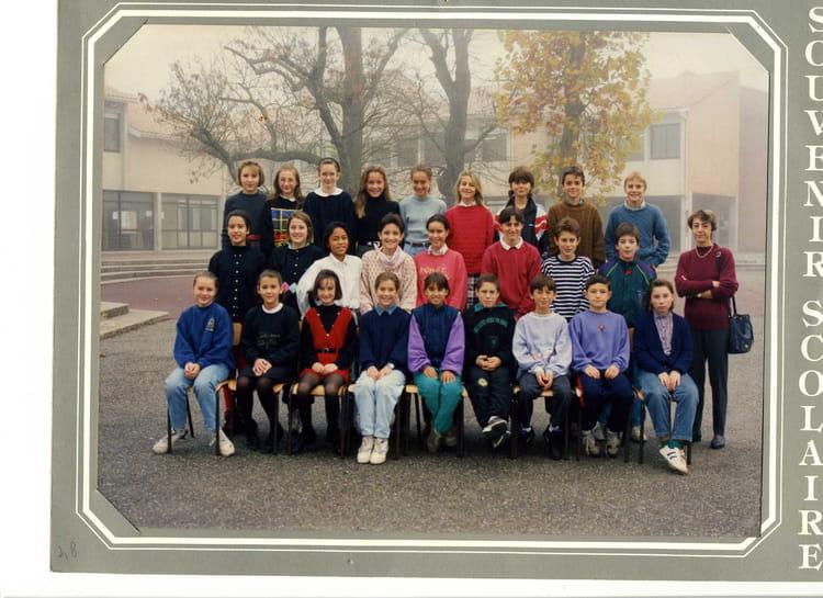photo de classe 6 176 1 de 1993 coll 232 ge porte du m 233 doc copains d avant
