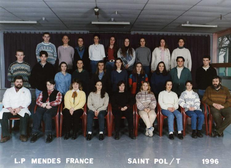 Photo de classe bac pro bureautique de 1996 lyc e for C bureautique mende