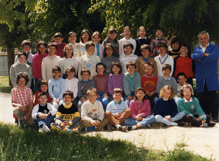 photo de classe cm1 cm2 de 1986 ecole saint joseph. Black Bedroom Furniture Sets. Home Design Ideas