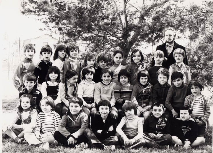 Photo de classe 1980 1981 CM1 Mr LORRIGNI de 1980, Ecole Jean Jaures (Sainte Genevieve Des  # Auto Ecole Sainte Genevieve Des Bois