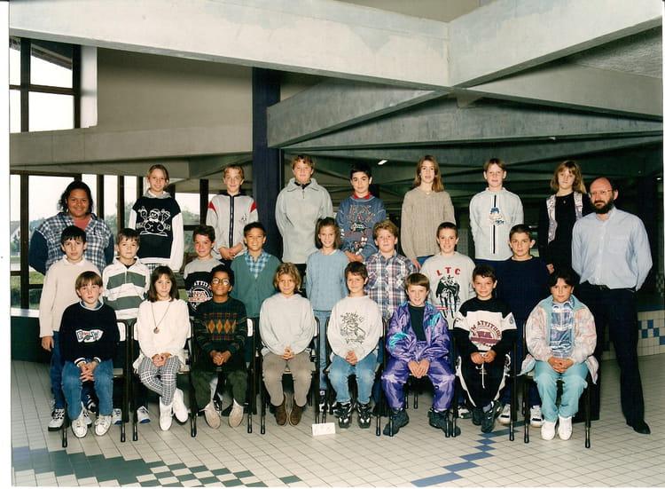 Photo de classe 6ème 8 de 1996, Collège Du Bois Daulne  Copains d