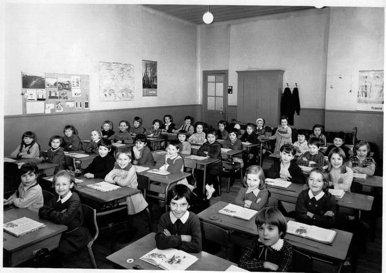 photo de classe ecole primaire gobelins le havre classe ce1 de 1966 ecole maternelle des. Black Bedroom Furniture Sets. Home Design Ideas