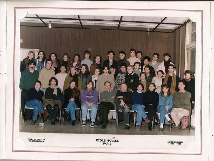 photo de classe bts archi interieure 1 re ann e de 1991 ecole boulle copains d 39 avant. Black Bedroom Furniture Sets. Home Design Ideas