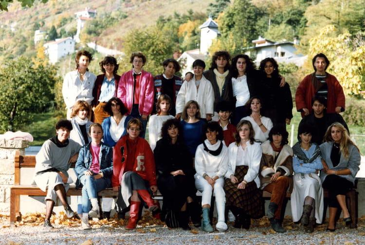 Photo de classe Terminale G1 b de 1984, Itecboisfleury  ~ Itec Bois Fleury
