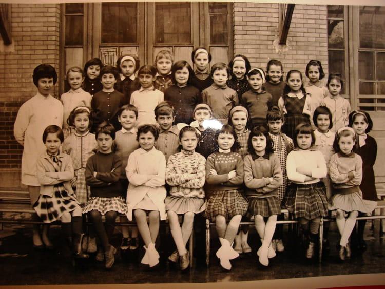 photo de classe 10 232 me ce1 233 cole paulbert maisons alfort de 1963 ecole paul bert copains d avant