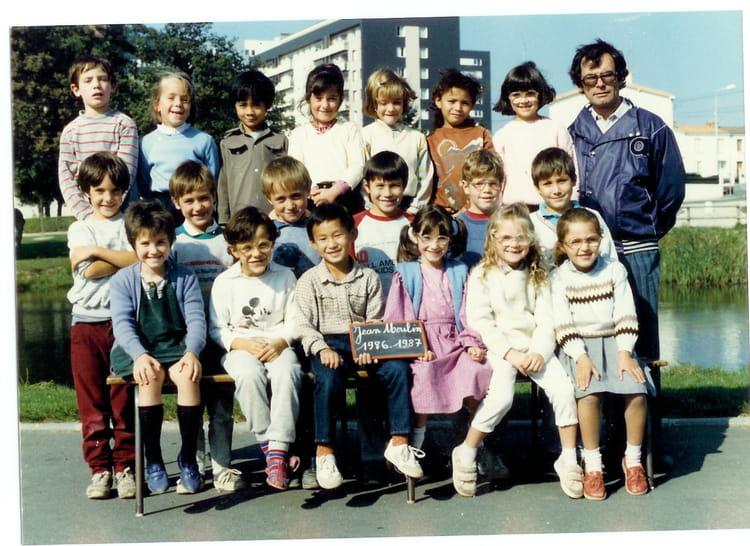 Photo de classe grande section de 1986 ecole jean moulin - Cours cuisine la roche sur yon ...