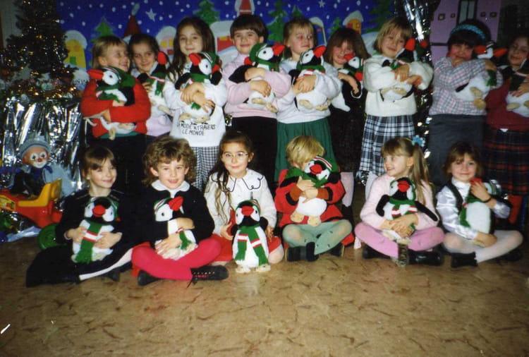 Cadeau De Noel Classe.Photo De Classe Cadeau De Noël De L école De 1993