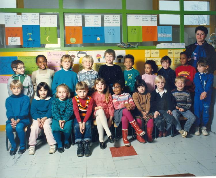 photo de classe cp pasteur 1987 88 me mazet de 1987 ecole louis pasteur brie comte. Black Bedroom Furniture Sets. Home Design Ideas