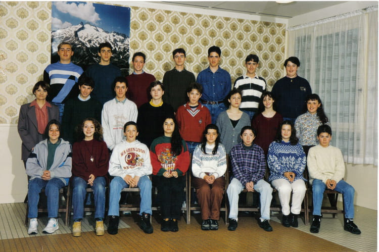 photo de classe 4 ieme 3 de 1994 coll ge f lix gaillard copains d 39 avant. Black Bedroom Furniture Sets. Home Design Ideas