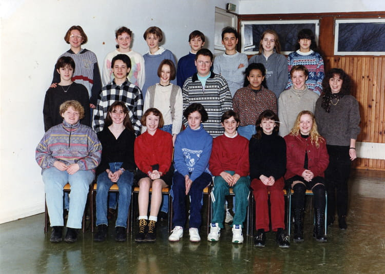 Photo de classe 4eme2 de 1995, Coll u00e8ge Alfred Kastler   Copains d u0026#39;avant