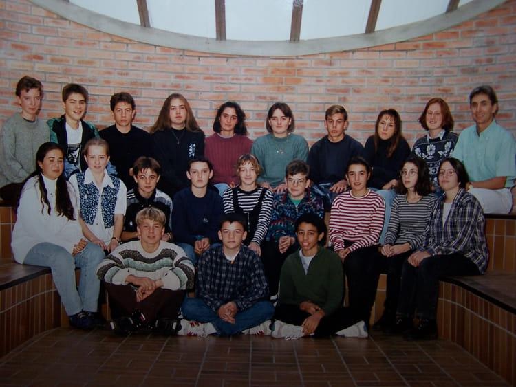 Photo de classe 3 u00e9me de 1995, COLLEGE ALFRED KASTLER   Copains d u0026#39;avant