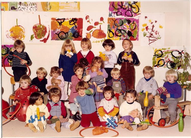 Photo de classe maternelle de 1982 ecole emile baumann - Cours cuisine la roche sur yon ...