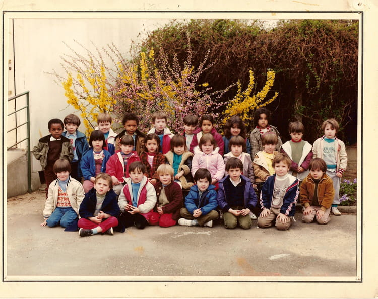 photo de classe franc nohain cosne sur loire de 1985. Black Bedroom Furniture Sets. Home Design Ideas