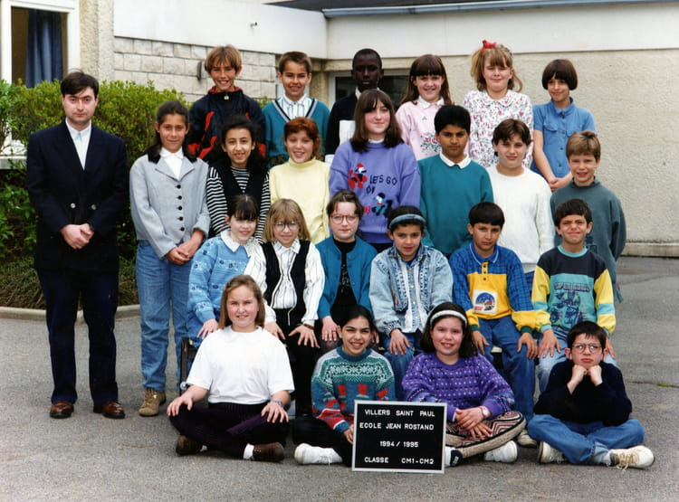photo de classe cm1 de 1995 ecole jean rostand villers. Black Bedroom Furniture Sets. Home Design Ideas